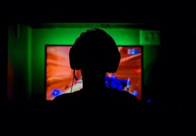 Computer games spelen headphone